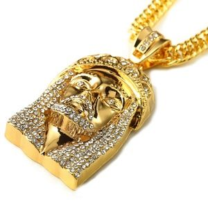 Other - Jesus Hip Hop Iced Out  Punk Jewelry Necklace